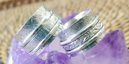 Spinner Ring - Metal Smithing Jewelry Making