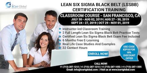 Lean Six Sigma Black Belt (LSSBB) Certification Training Course in San Francisco, CA, USA.