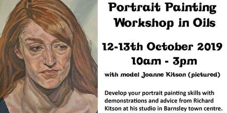 Portrait Painting Workshop in Oils tickets
