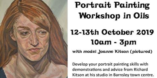 Portrait Painting Workshop in Oils