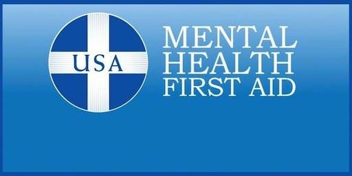 Teen Mental Health & First Aid Training