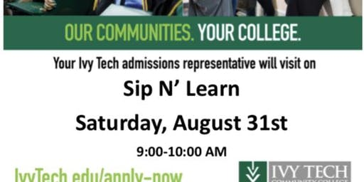 Sip 'n' Learn with Ivy Tech