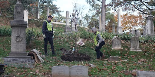 Volunteer: Community Tree Planting - Oak Hill Cemetery