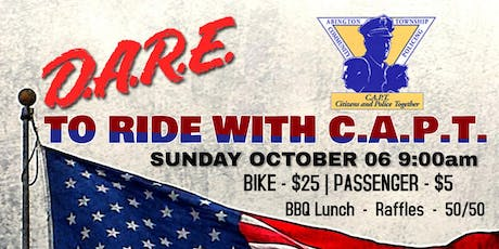 C.A.P.T. Bike Run tickets