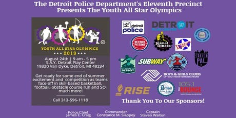 The Detroit Police Department's 11th Precinct Youth All Star Olympic Games tickets
