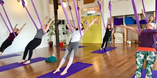 Pop Up Class-Aerial Yoga with Paddy Gallagher