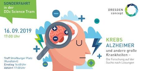 Krebs, Alzheimer und andere große Krankheiten – Die Forschung auf der Suche Tickets