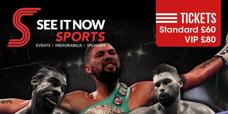 """An Evening with Tony """"Bomber"""" Bellew tickets"""