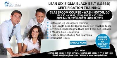 Lean Six Sigma Black Belt (LSSBB) Certification Training Course in Washington, DC, USA.