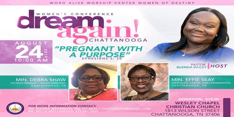 Women's Conference - Dream Again! Chattanooga tickets