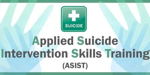 ASIST (Applied Suicide Intervention Skills Training) STUDENT RATE