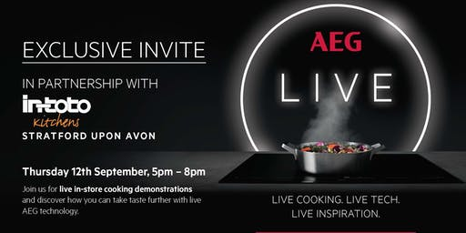 AEG live cooking demonstration