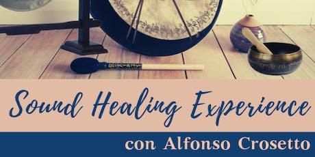 Sound Healing Experience con Alfonso Crosetto biglietti