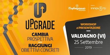 UPGRADE - Innovarti 2019 biglietti