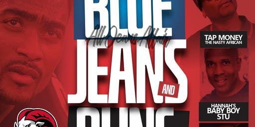 "BLUE JEANS AND BLING ""ALL JEANS AFFAIR"""