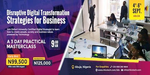 Disruptive Digital Transformation Strategies for Businesses