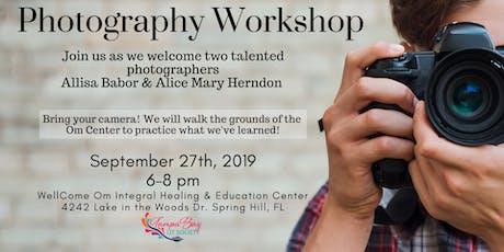 TBLS Photography Workshop tickets