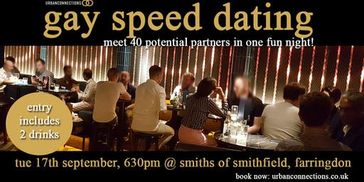 Gay Speed Dating, Farringdon