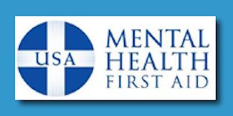 FREE ADULT MENTAL HEALTH FIRST AID TRAINING - Bryn Mawr tickets
