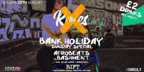 No Rules - Summer Bank Holiday Sunday Special! tickets