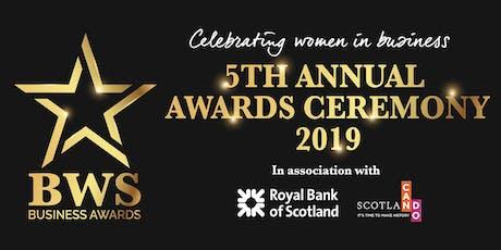 BWS Business Awards - 8th November 2019 tickets