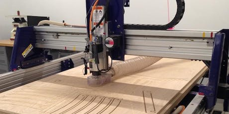 Introduction to the CNC Router (Shopbot)- Fab Lab Workshop, woodworking tickets