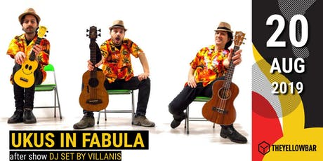 Ukus in Fabula - The Yellow Bar biglietti