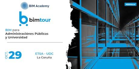 BIMtour: BIM para Administraciones Públicas y Universidad en La Coruña entradas