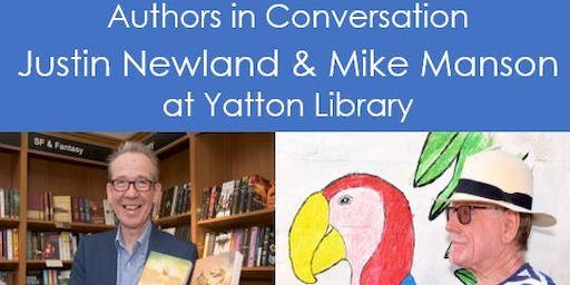 Authors Justin Newland & Mike Manson in Conversation at Yatton Library