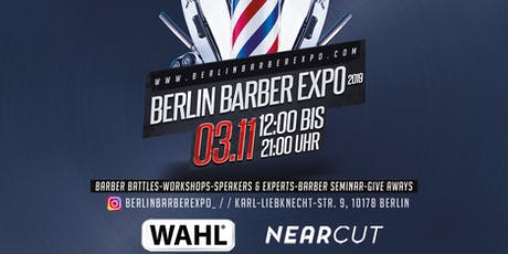 Berlin Barber Expo 2019 Tickets