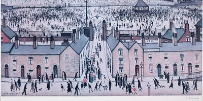 L.S Lowry Exhibition at Whitewall Weybridge
