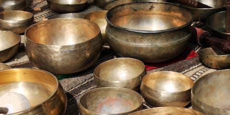 Sound Healing with Tibetan Singing Bowls tickets