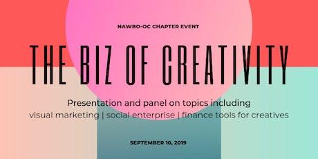The Biz of Creativity: NAWBO September Chapter Event tickets