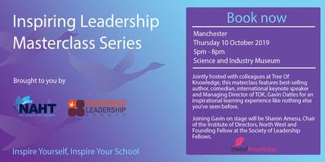 Inspiring Leadership Masterclass Series  tickets