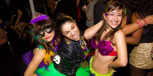 Mardi Gras Bar Crawl on King Street