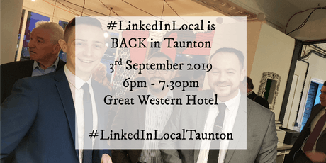 LinkedInLocal Taunton Great Western Hotel tickets