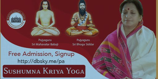 Sushumna Kriya Yoga Meditation initiation  by  Guru Atmanandamayi  Mataji