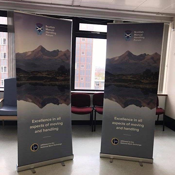Exhibitors Invite - Scottish Manual Handling Forum -  2 Day Conference image
