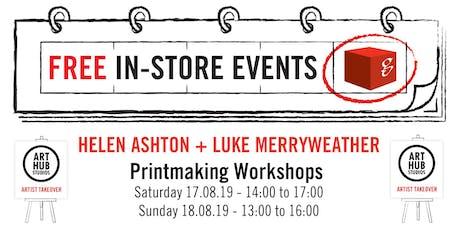 Art Hub Studios Takeover: Printmaking Workshops tickets
