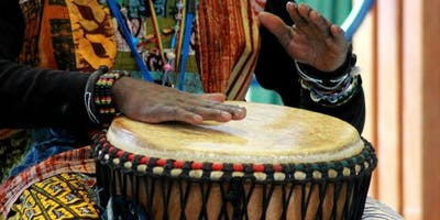 African Activities - drumming \ The Art House \ Sept 2019