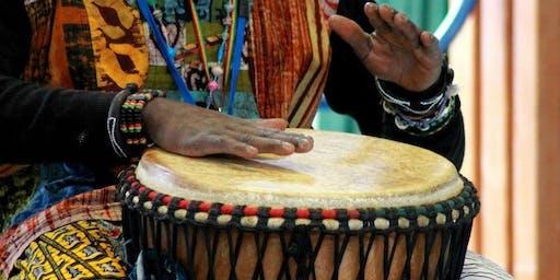 African Activities - drumming \ The Art House \ Sept 2019