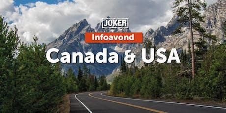 Infoavond: Roadtrips in Canada en de USA in Kortrijk tickets