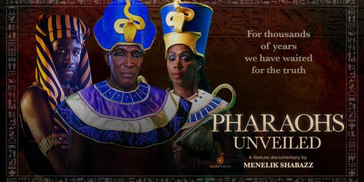 Pharaohs Unveiled and Q&A with Film Director