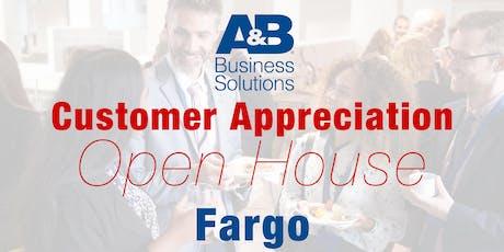 A&B Customer Appreciation Open House - Fargo tickets