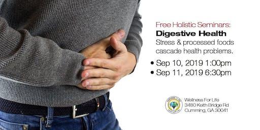 Digestive Health - FREE Health Seminar