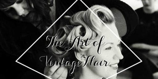 Vintage Hair- 50s Hair SculptureMasterclass