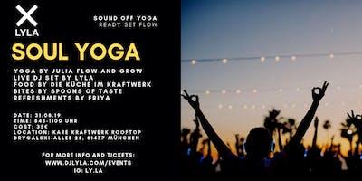 Sound Off Soul Yoga with DJ LYLA at Kare Kraftwerk Rooftop