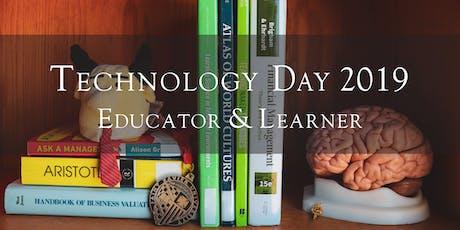 Technology Day 2019 - Teacher: Learner tickets