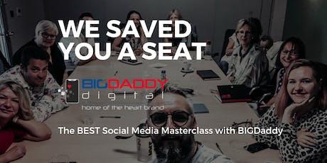 THE UK's No1 SOCIAL MEDIA MASTERCLASS 2019! - August 2019 tickets