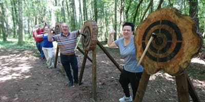 Axe throwing event (10.00 - 11.30am, 3rd November 2019, near Cardiff)